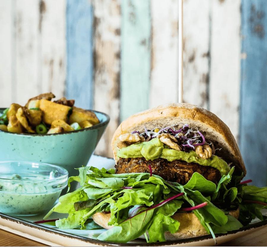 München vegan: Burger von Emmis Kitchen