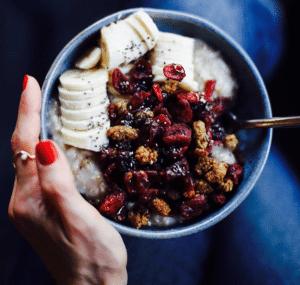 Haferkater München, veganer Porridge