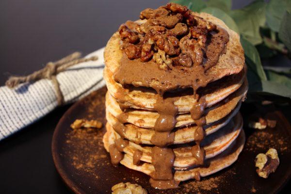 Weihnachtliche Pancakes