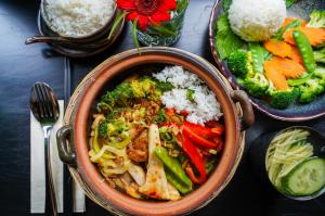 Soy in München, vegan vietnamesisch