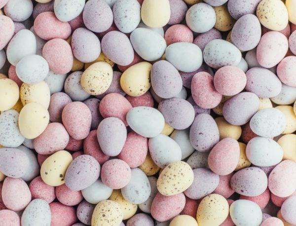 Vegane Ostersüßigkeiten: Ostereier