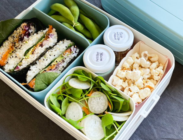 Beispiel Vegan Lunch Date Box