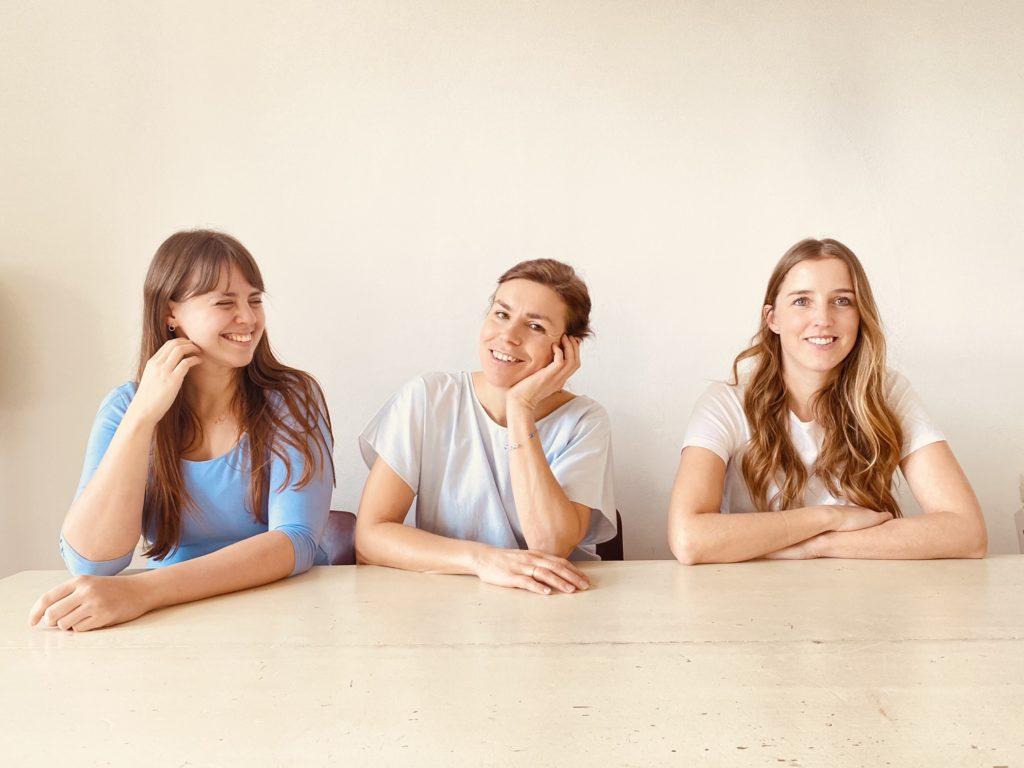 Tereza Pavoukov, Marion Obermaier und Martina Brunner von Vegan Lunch Date